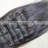 remy hair wholesale price human hair clip in grade 5a 6a 7a 8a pure indian remy virgin human hair weft