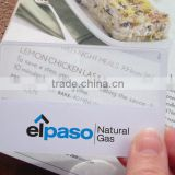 PVC business name card magnifier for Promotional