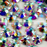 3mm Iron-on Crystal Rainbow Rhinestone, Crystal AB Tarnsfer Rhinestone Wholesale for Wedding