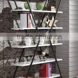 2015 Hot Sale Cheap Price Modern Simple Design Bookcase , fashion MDF simple bookcases/ shelf , wholesale modern corner bookcase