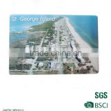Island journey souvenir gifts eco-friendly fridge magnet/full color printed coated paper magnet/High performance