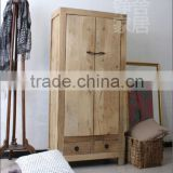 Chinese antique shanxi elm wood bleaching natural big wardrobe                                                                         Quality Choice