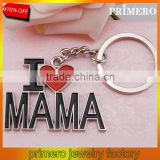 I LOVE MAMA letter heart key chains best trinket Mother's Day gift key ring jewelry