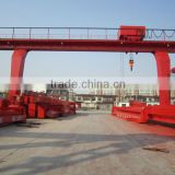 Medium Double girder gantry crane used for open storage yard, port and rail terminal