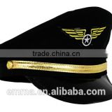 Fashion airline pilot hats with great pretty design HT2039