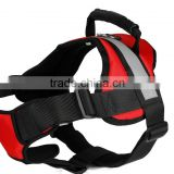 High-perrformance Durable dog reflective band dog body harness red