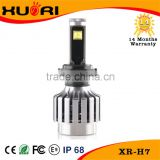 ETI chips high lumen bright H1 H3 H4 H7 H11 led headlight bulbs with 30w 3600lm as fog light for toyota hiace