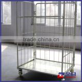 Mesh Box Pallet Type, Roll Trolley Cart