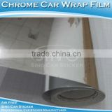 Wholesale Bubble Free Silver Chrome Film For Car Wrap/Car Wrapping Vinyl Sticker Roll 1.52x30M
