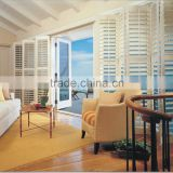 Wholesale half price china blinds factory custom outdoor wood window plantation shutters canada,california shutters canada
