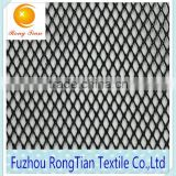 Good price black polyester tricot 80gsm K114 net diamond mesh fabric for bags lining