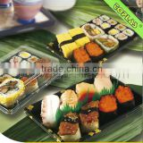Disposable Plastic Food Sushi Box Take Away Packing Containers                                                                         Quality Choice