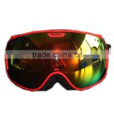 Professional PROPRO Snowmobile Ski Snowboard Goggles Anti-fog UV Protective Wide Angle Dould Lens Winter Outdoor Goggles