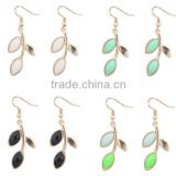 Hot Sale Bohemia Style Dangle Leaf Earring for Women