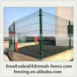 Hot Dip Galvanized+PVC Coating High Quality 3D Curved Wire Mesh Fence for Plant (Low price)