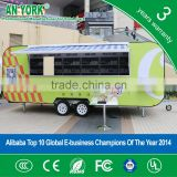 2015 HOT SALES BEST QUALITY food trailer for sale used food trailer petrol tricycle food trailer