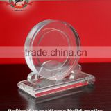 High top Crystal car tyre trophy and award