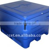 Roto-moulded 454QT Plastic fish container,fish container, insulated plastic fish container,fish tub