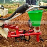 Little white dragon 6.5HP gasoline cultivator and planter soybean planter corn seed planting machine
