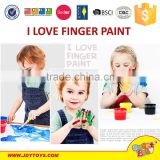 With 4 color paints Health DIY kids finger painting toy foreign kids games