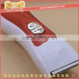 Electric rechargeable pet clippers ,CC210 animal pet clipper feeder , quite noise pet hair clipper