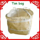 high quality strong handle super sacks pp woven ton bag                                                                                                         Supplier's Choice