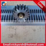 C45 steel M4 straight gear rack and pinion                                                                         Quality Choice