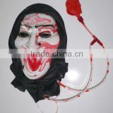 2012 latex horror halloween mask with blood