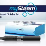 mySteam Electronican Shisha Set 5000 Black E Hookah Electrical Cigarette German Quality Urban Style My Steam