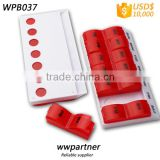 INQUIRY about Promotional 7 days drug container detachable design