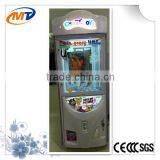 Crazy Toy 2 crane game machine /amusement machine gift machine prize claw with LED lights