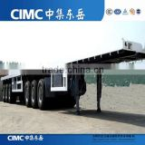 Interlink or superlink container dolly semi trailer for 20ft and 40ft Container Transport