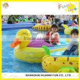 Amusement water park wate float bumper boat for kids and adult inflatable bumper boats aqua toy boats