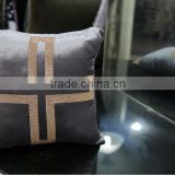 Premier cushion manufacturer High quality custom designed velvet upholstery sofa cushion