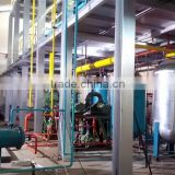 Continuously into the waste oil refined oil products used engine oil recycling machine Crude oil mud out of diesel