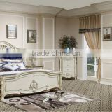 2015 New Design NEW ITEM-Italy luxury classical royal furniture antique gold bedroom sets,king size bed