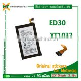battery 3.8v gb/t 18287-2013 mobile phone battery ED30 for Motorola MOTO G/XT1031/XT1032