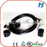 ev charging station AC charger 32a iec62196 3 phase type 1 to type 2 plug for electric vehicle