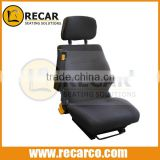 Static seats R913R/ISRI1000 heavy equipment high backrest static replacement seats