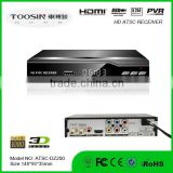 Hot selling dvb-atsc digital modulator HD H2.64 MPEG 4 Digital hd mini set top box atsc for Canada
