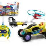 New and hot sale 5 ch r/c Robot Car.deformation Car for boys gift,china cheap battery toys,powerful rc car with plane,