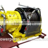 10T Air Winch used for lift and drag heavy cargo ,drilling platform,marine,minnings,engineering