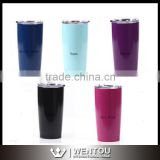 Stainless Steel Powder Coated 20oz Rambler Tumbler