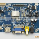 1920x1200 lcd AD board with VGA hdmi av input