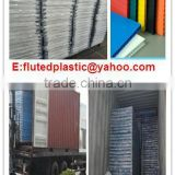 2mm 3mm black lowest price of plastic corrugated sheets/board for temporary floor and construction protection