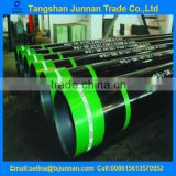 "Factory price top quality API 5CT J55 16"" 47.17ppf Seamless steel oil well casing pipe"
