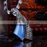 Horn Shaped Pendant Handmade Jewelry Thailand Factory Direct Wholesale