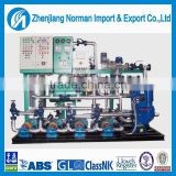 Marine automatic fuel oil supply unit for fuel oil system