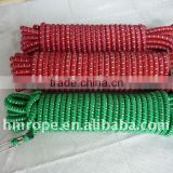 Elastics luggage rope with hook