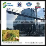 Soybean rice paddy rice wheat galvanized corrugated silo for storage